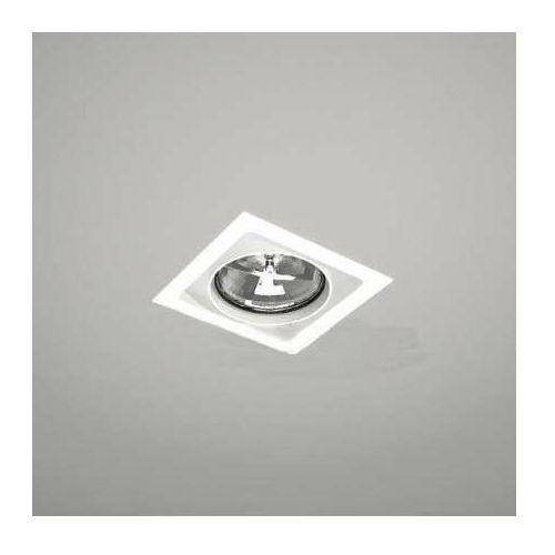 Shilo Wpuszczana lampa sufitowa muko 7342 podtynkowa oprawa metalowa kwadratowa wpust biały (5903689973427)