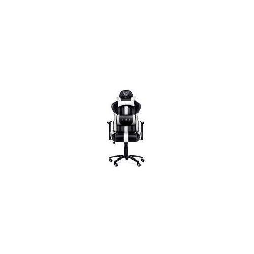 Diablo chairs x-player (czarno-biały)