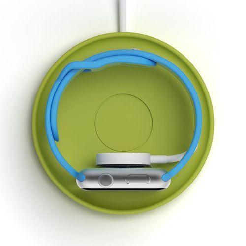 Stojak na zegarek Apple Watch Kosta zielony (8886466091392)