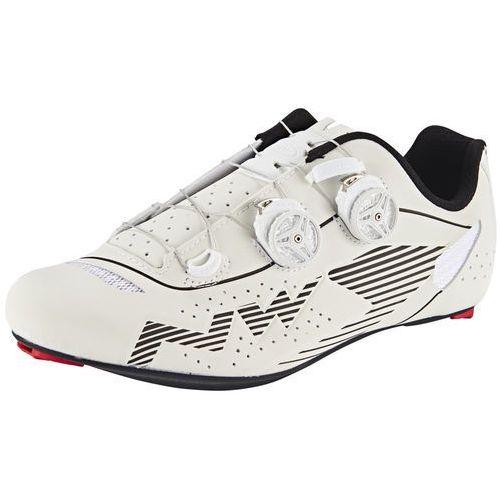 Northwave evolution plus wide buty mężczyźni biały 41 2017 buty szosowe zatrzaskowe (8030819959598)