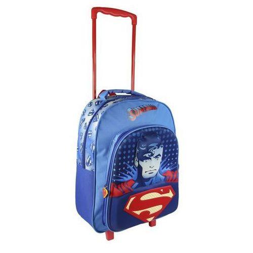 Plecak na kółkach 3D Superman 41 cm