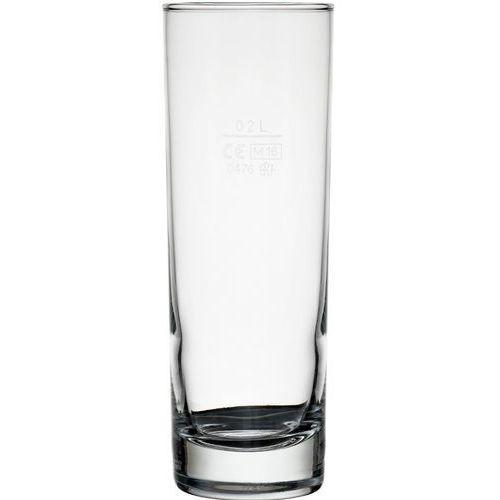 Szklanka wysoka do napojów 200 ml - z cechą marki Bormioli rocco