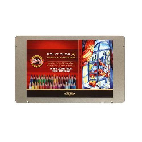 Kredki ołówkowe 36kol Polycolor Koh i Noor 3825, AR5702