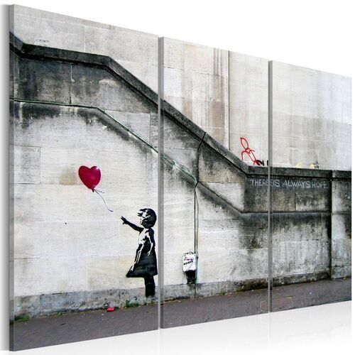 Obraz - Girl With a Balloon by Banksy