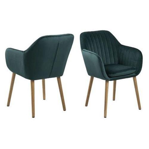Krzesło Emilia Velvet - zielony ciemny (5705994946529)