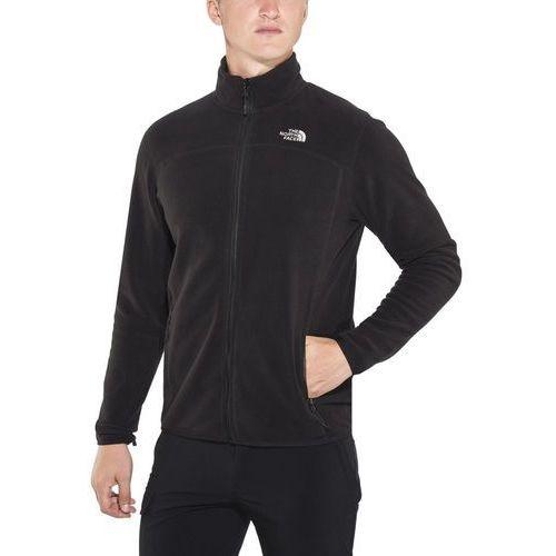 100 glacier kurtka mężczyźni czarny xl 2018 kurtki wspinaczkowe marki The north face