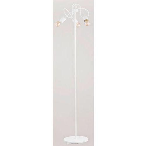 Lampa podłogowa Alfa Tango 23619 3x60W E27 biała, kolor biały