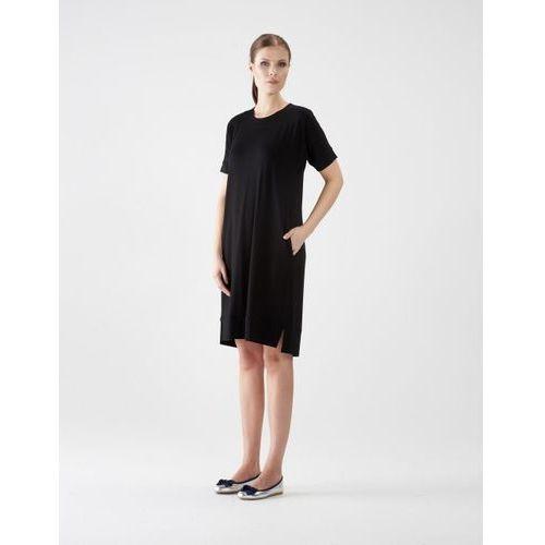 Sukienka su132 (Kolor: brązowy, Rozmiar: Uniwersalny)