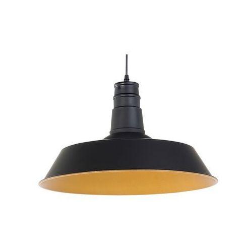 Lampa wisząca czarna BAYOU, kolor Czarny,