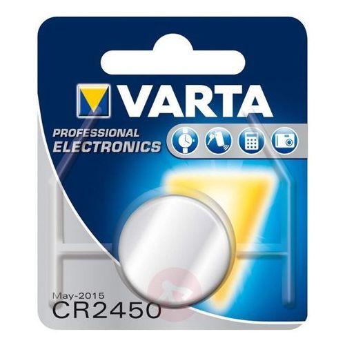 Mała bateria 3v lithium cr2450 marki Varta