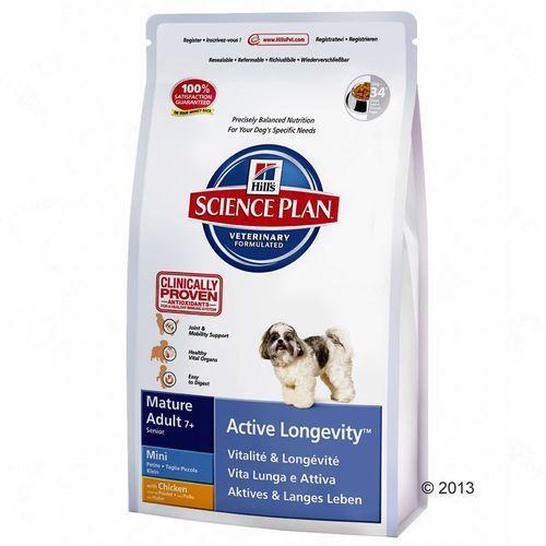 Hill's Canine Mini Mature Adult 7+, kurczak - 2 x 7,5 kg