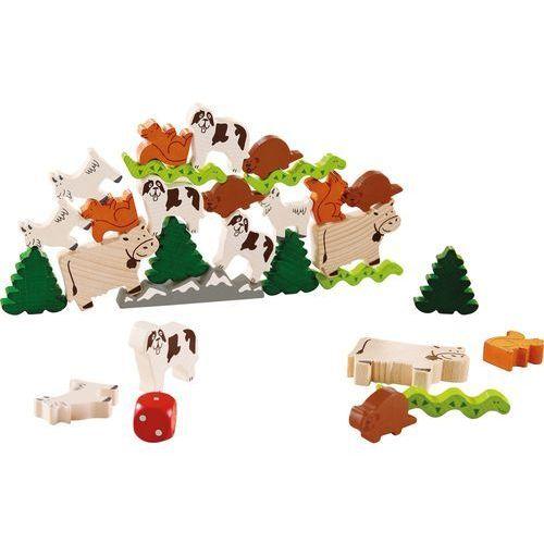 Haba Gra zwierzak na zwierzaku - zwierzaki alpejskie hb300804