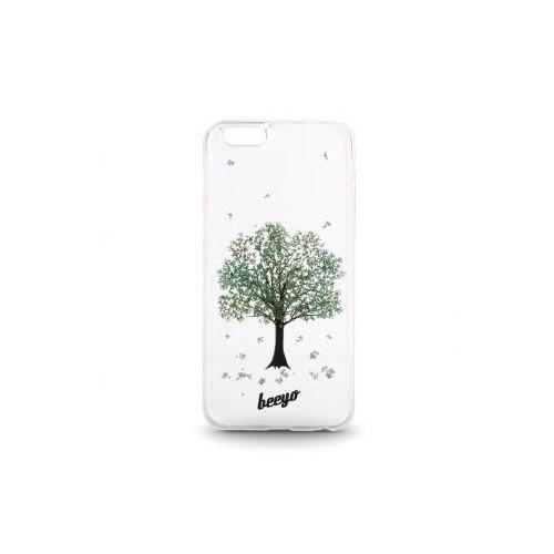 Nakładka Beeyo Blossom do LG K4 zielona Odbiór osobisty w ponad 40 miastach lub kurier 24h - produkt z kategorii- Futerały i pokrowce do telefonów