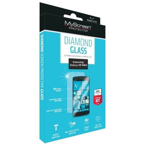Szkło MYSCREEN PROTECTOR Diamond Glass Samsung Galaxy S5 Mini (5901924904182)