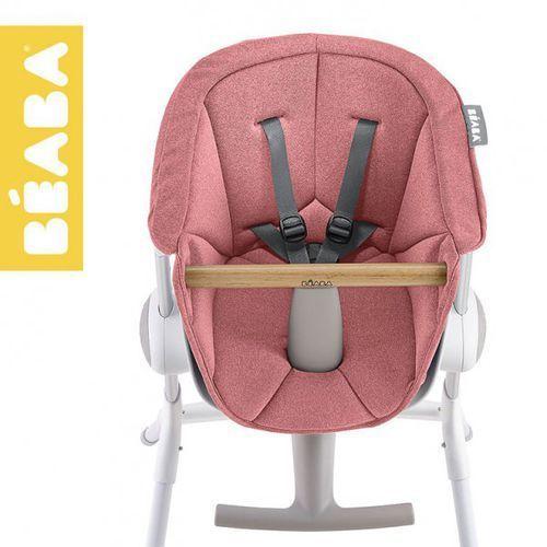miękki wkład do krzesełka do karmienia up&down pink marki Beaba