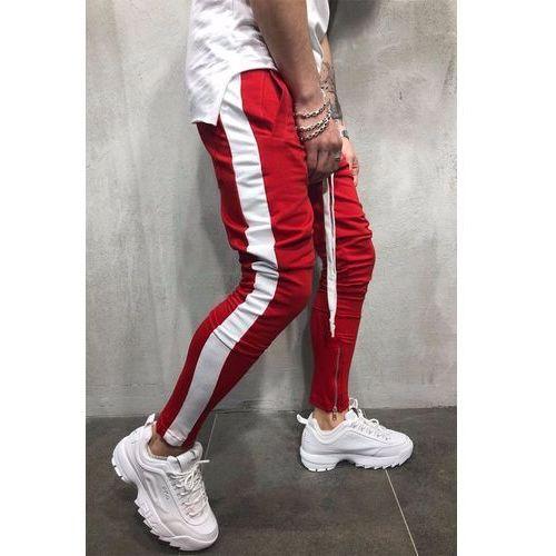 Spodnie męskie HENRY RED
