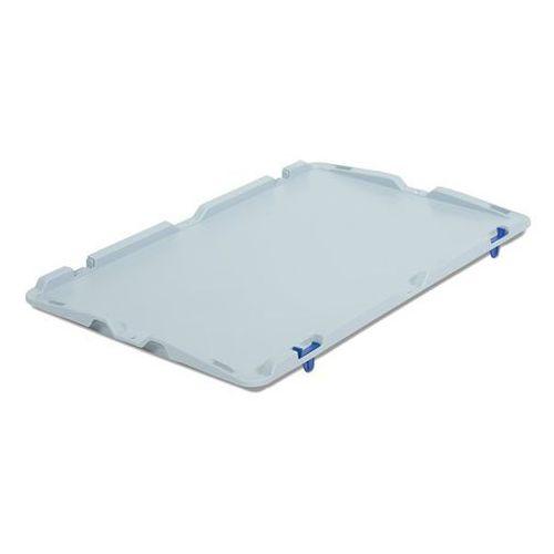 Pokrywa na zawiasach, do zamontowania, do dł. x szer. 600x400 mm, opak. 2 szt. marki Vectura behältermanagement