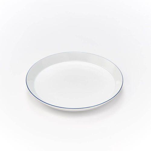 Talerz płytki porcelanowy BISTRO - śr. 21,5 cm