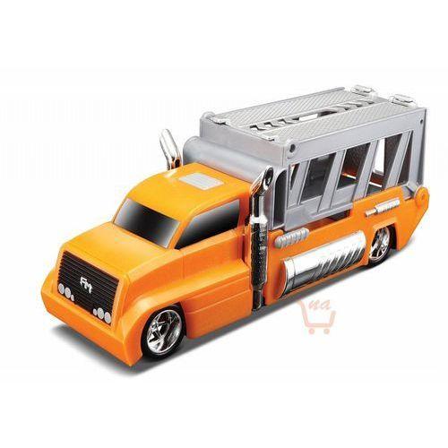 Maisto burnin' key cars ciężarówka + autko oneway