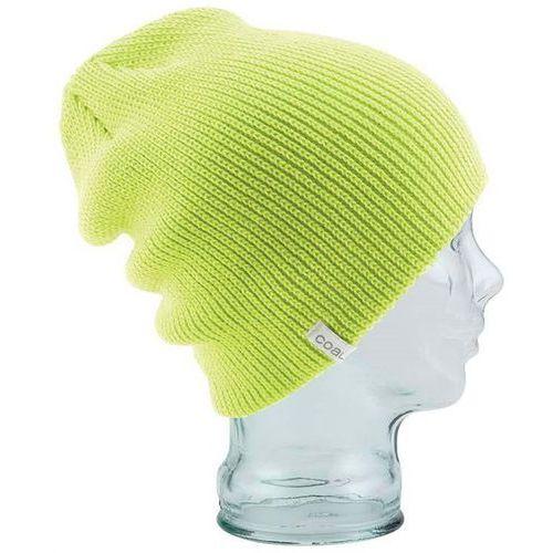 czapka zimowa COAL - The Frena Solid Fluorescent Yellow (07) rozmiar: OS, kolor żółty