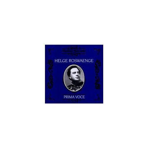 Helge Roswaenge / Prima Voc