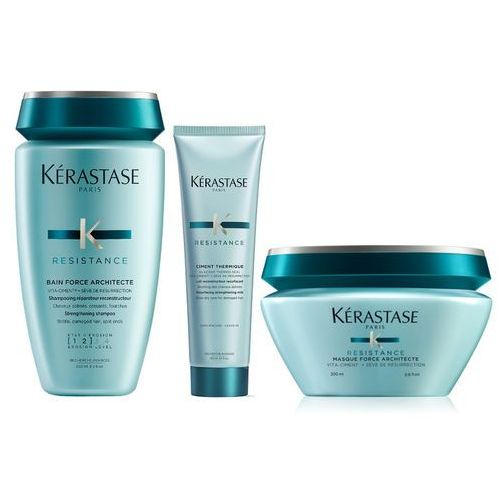 Kérastase Kerastase resistance force architecte bain 250ml + ciment thermique 150ml + mask 200ml