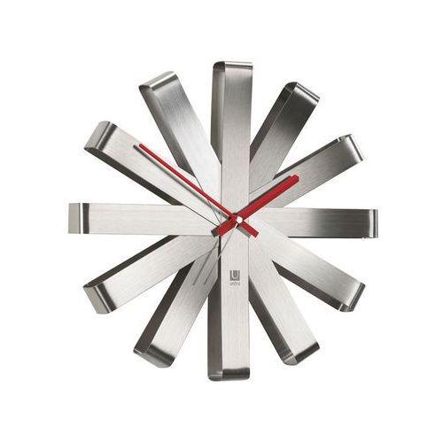 - zegar ścienny - ribbon - stalowy marki Umbra