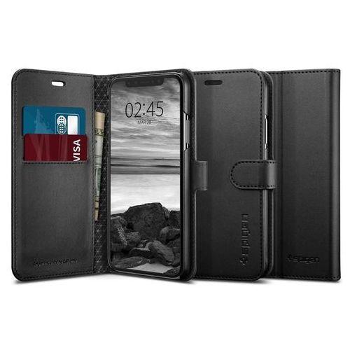 Spigen Etui wallet s portfel apple iphone xs max black (8809613763621)