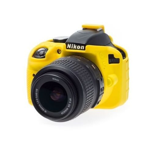 EasyCover osłona gumowa dla Nikon D3300/D3400 żółta z kategorii Futerały i torby fotograficzne