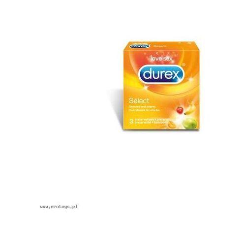 Prezerwatywy  select a3 od producenta Durex