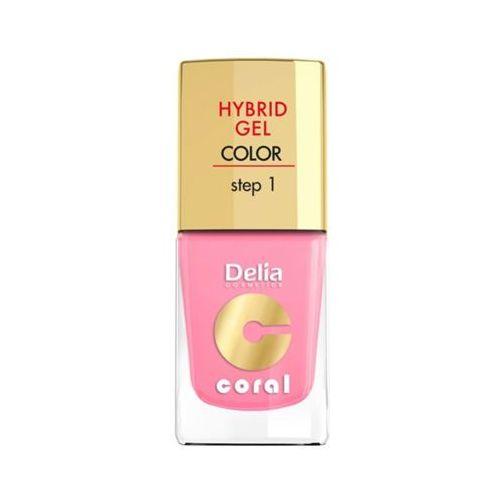 hybrid gel step 1 24 jasny róż żelowy lakier do paznokci marki Delia