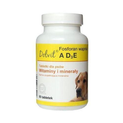 dolvit fosforan wapnia ad3e - preparat witaminowo - mineralny dla psów 800g - 800g marki Dolfos