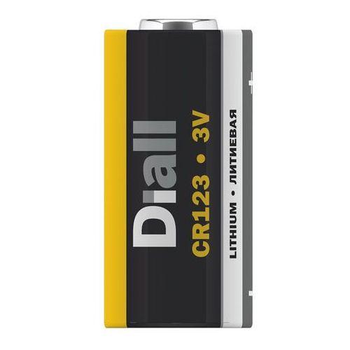 Bateria Diall Lithium CR123 1 szt. (3663602481485)