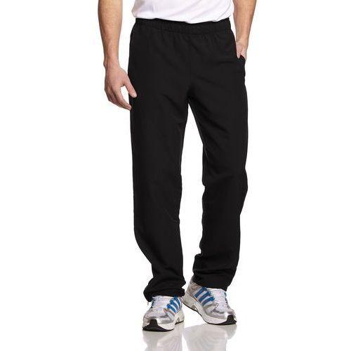 męskie spodnie essentials stanford basic, czarny, xl marki Adidas