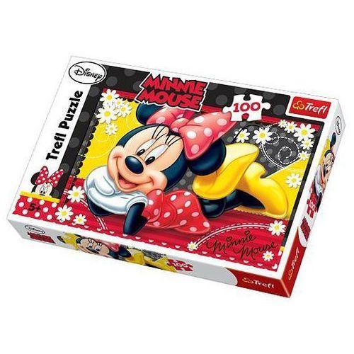 Trefl Puzzle 100 wesoła minnie (5900511161939)