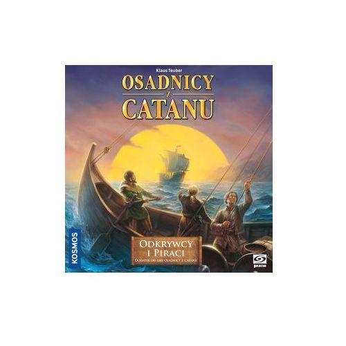 Galakta Catan: odkrywcy i piraci (5907506208563). Najniższe ceny, najlepsze promocje w sklepach, opinie.