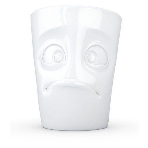 """- kubek - """"zdumiony"""" - biały błyszczący - 350 ml marki 58products"""