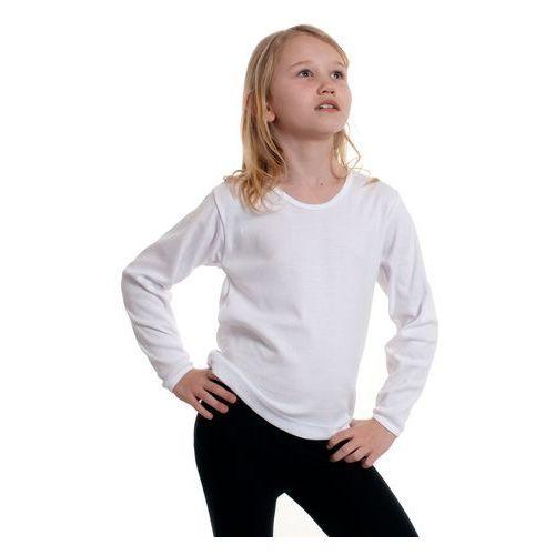 Gucio Koszulka długi rękaw 128-140 rozmiar: 140, kolor: biały, gucio