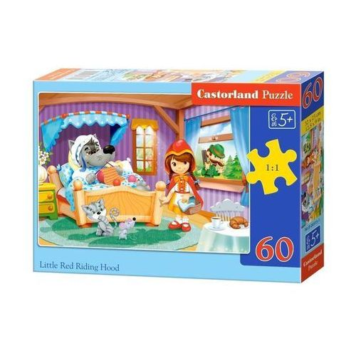 Castor Puzzle 60 little red riding hood