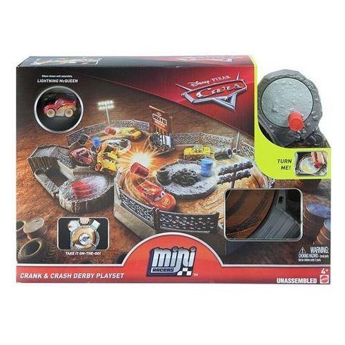 Mattel Cars mikroauta zakręcona ósemka zestaw
