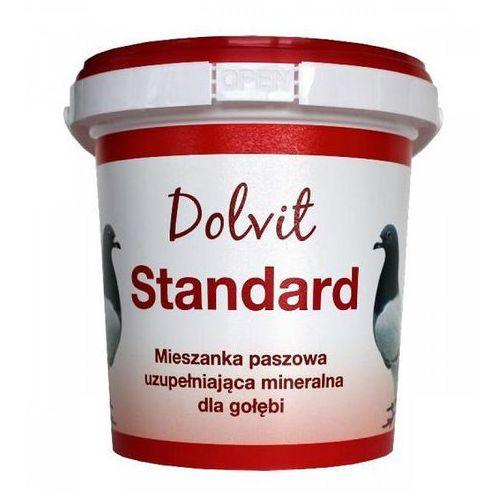 dg dolvit standard mieszanka paszowa mineralna uzupełniająca dla gołębi 400g marki Dolfos