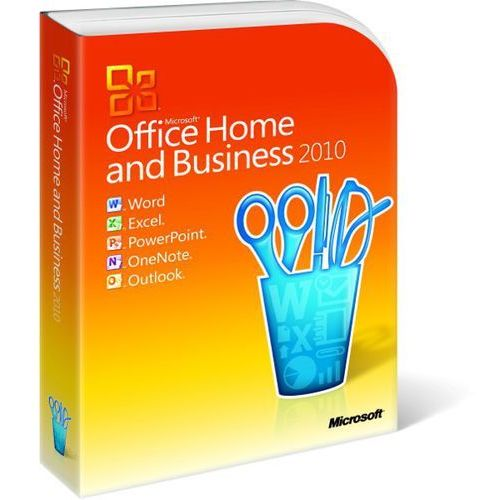 Microsoft  office 2010 home & business 32-bit/x64 (0885370037470)