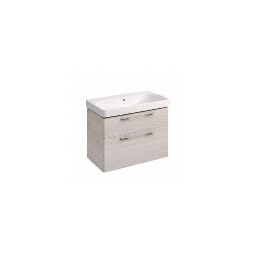 KOŁO szafka + umywalka bez otworu na baterię Traffic 90 jesion bielony 89504-000+L91090000, 89504-000.L91090000