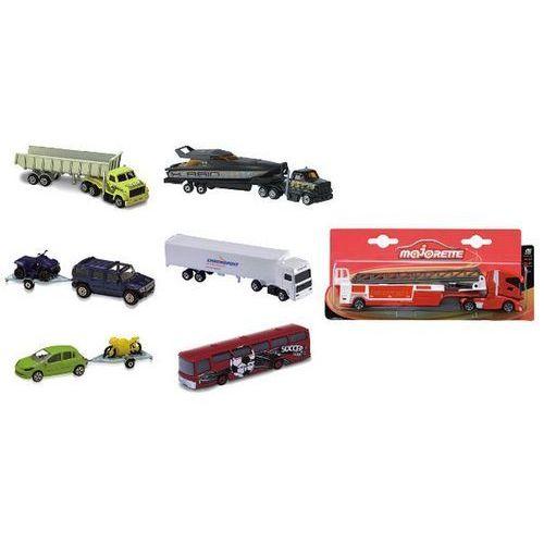 Ciężarówki i samochody z przyczepami marki Majorette