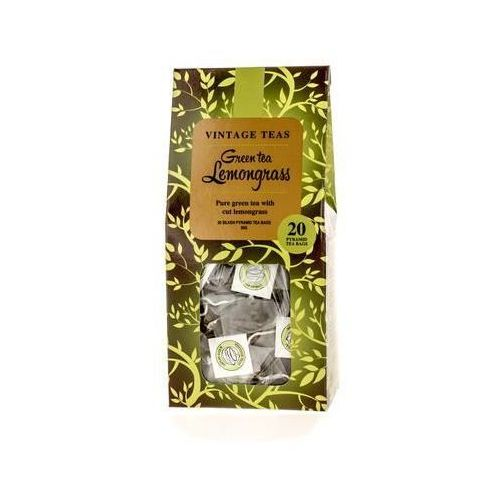 green tea lemongrass - 20 torebek 2,5g marki Vintage teas