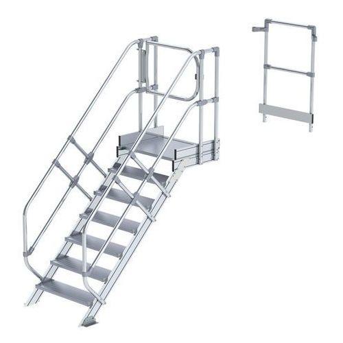 Günzburger steigtechnik Przemysłowy pomost roboczy, moduł do schodów, 6 stopni. najwyższa elastyczność d