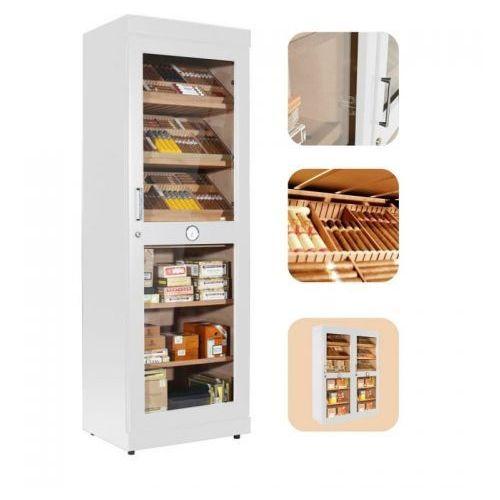 humidor cabinet roma white na ok 6000 cygar marki Adorini