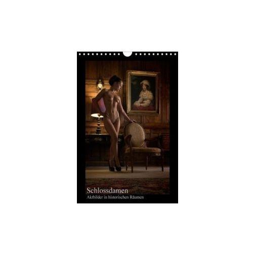 Schlossdamen - Aktbilder in historischen Räumen (Wandkalender 2018 DIN A4 hoch)