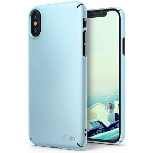 Etui Ringke Slim Case do iPhone XS/X 5.8 Sky Blue, kolor niebieski