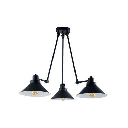 Nowodvorski Techno 9142 Plafon lampa sufitowa na wysięgniku 3x60W E27 Czarna, kolor Czarny
